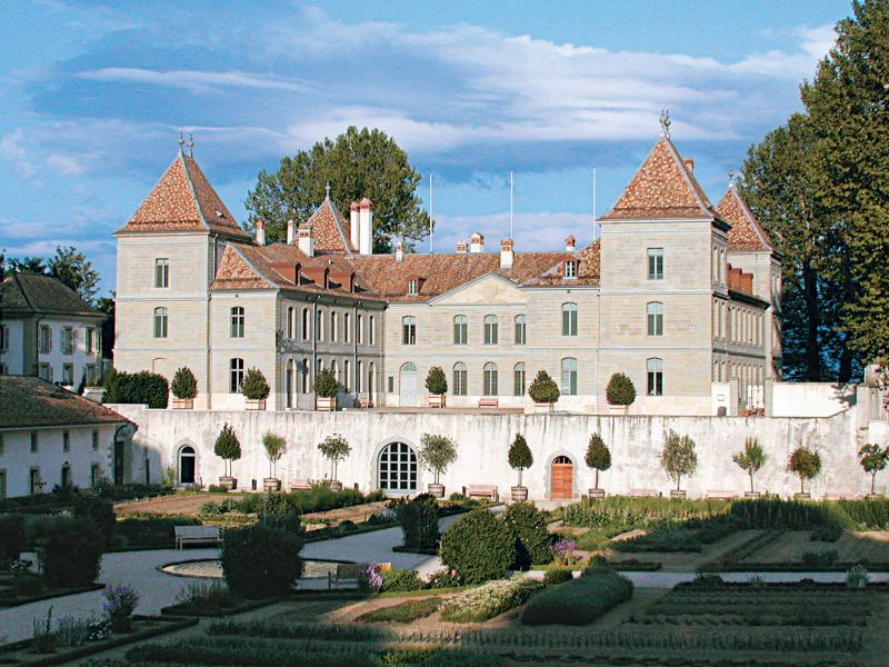 Noble conferences at the Château de Prangins © Marc Amiguet