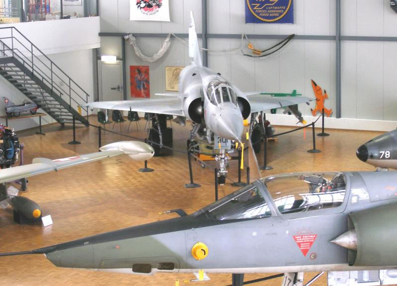 Payerne Museum of military aviation Clin d'Ailes