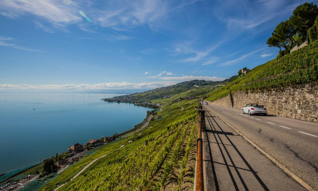 Visitors who've already taken this route through the Montreux Riviera will remember it well: the serenity of Lake Geneva, the majesty of the Alps, the imposing Lavaux vineyard terraces and the magnificent Chillon Castle are all unforgettable.