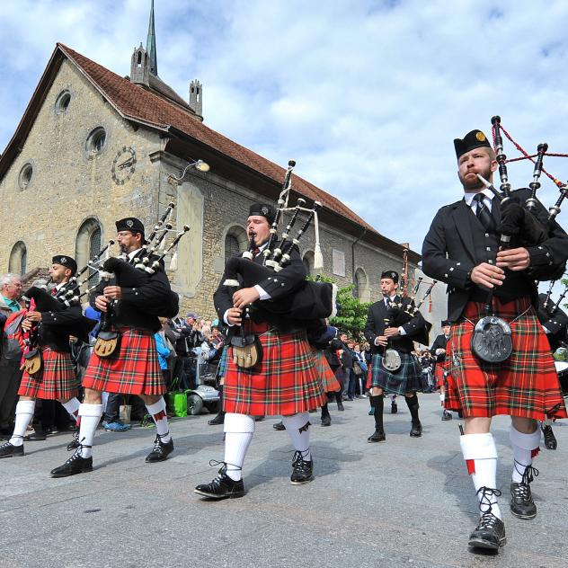 Parade - Avenches Tattoo