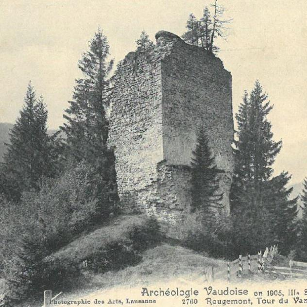 The Vanel Castle Ruins