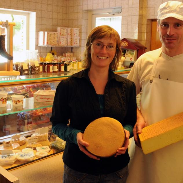 The Les Moulins bio Cheese Factory