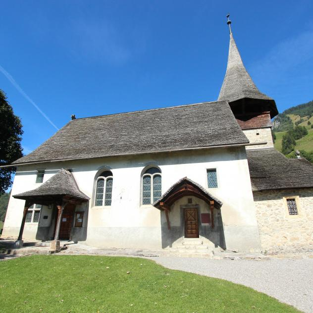 The church of Rossinière