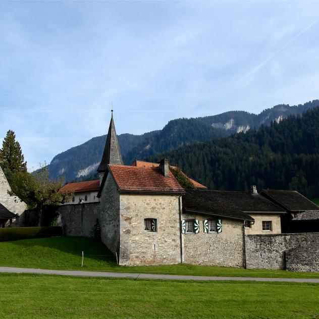 "Rougemont, member of ""The Most Beautiful Villages in Switzerland"""