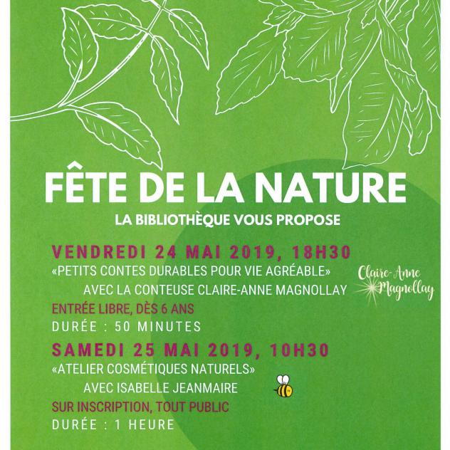 Fête de la Nature - natural cosmetics workshop
