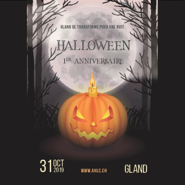 Halloween in Gland