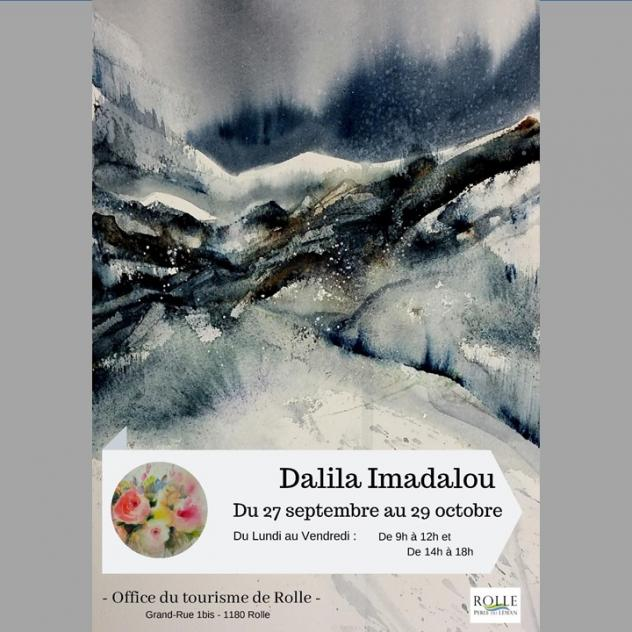 Exposition - Dalila Imadalou - Tourism office of Rolle