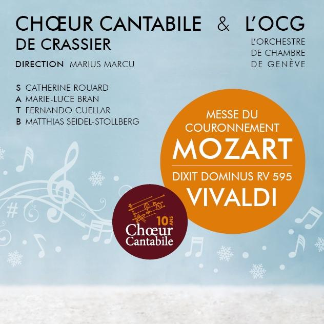 Concert Choeur Cantabile & OCG - Temple of Rolle