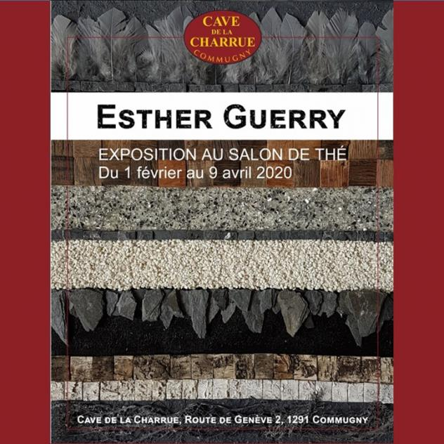 Exhibition of Esther Guerry - Cave de la Charrue
