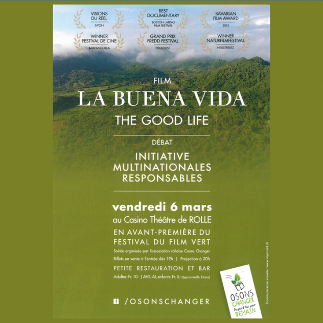 Film - La Buena Vida - Casino Theatre of Rolle