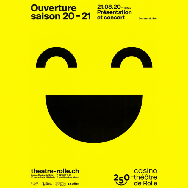Public presentation of the 20-21 season at the Casino Théâtre de Rolle