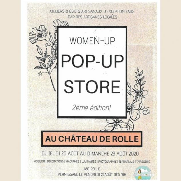 Women-Up  -  Pop-Up Store - Rolle Castle