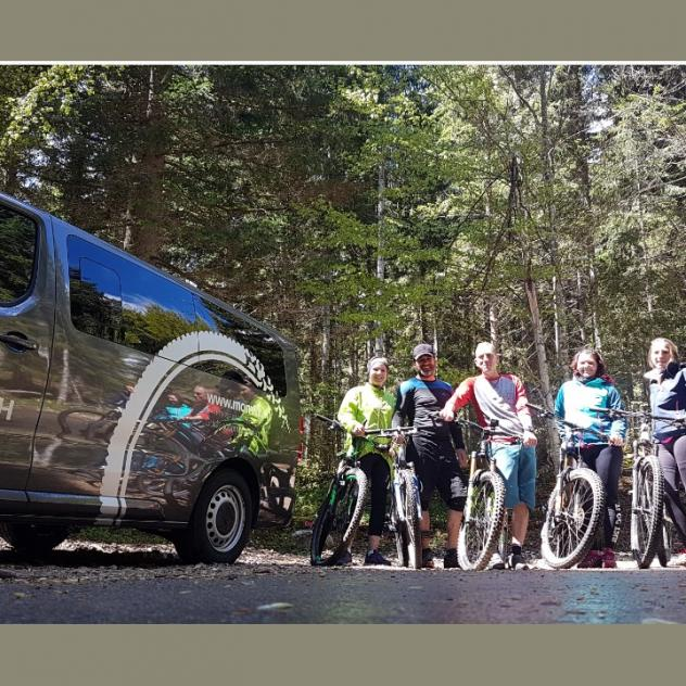 "Week-end VTT Enduro ""Shuttle"" Mon VTT"