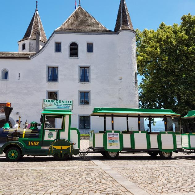 Tourist Little Train Nyon