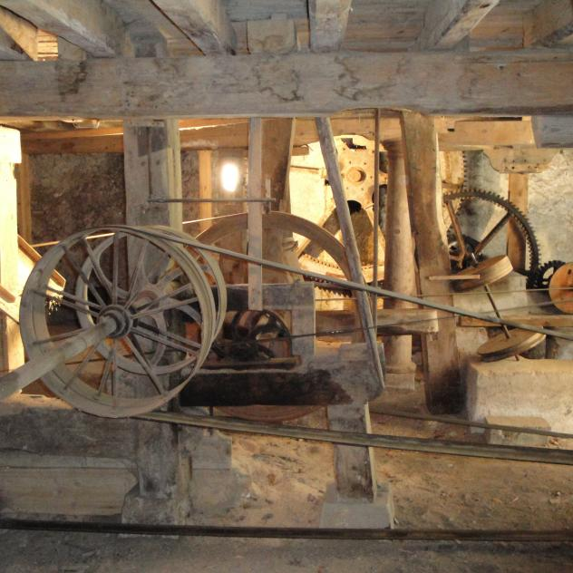 Guided tour of the ancient mill in St-George
