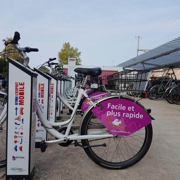 Publibike - Bike sharing