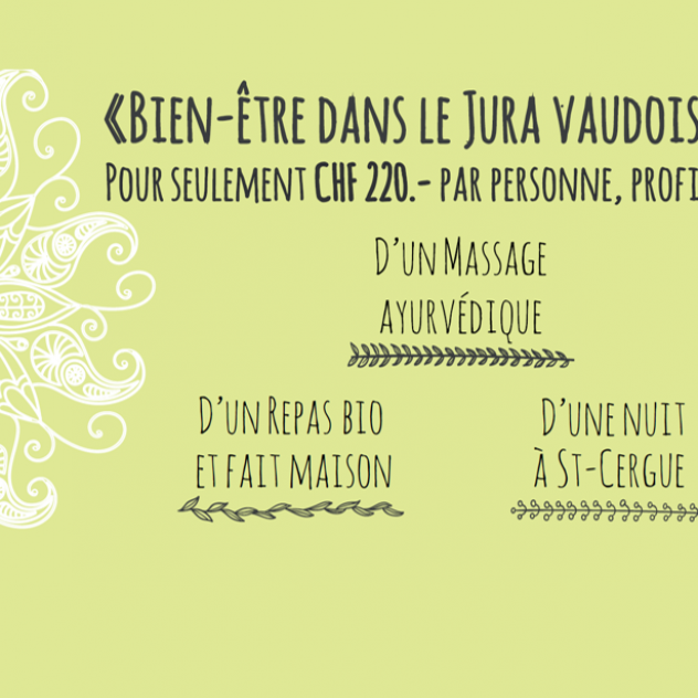 Wellness night in Jura vaudois