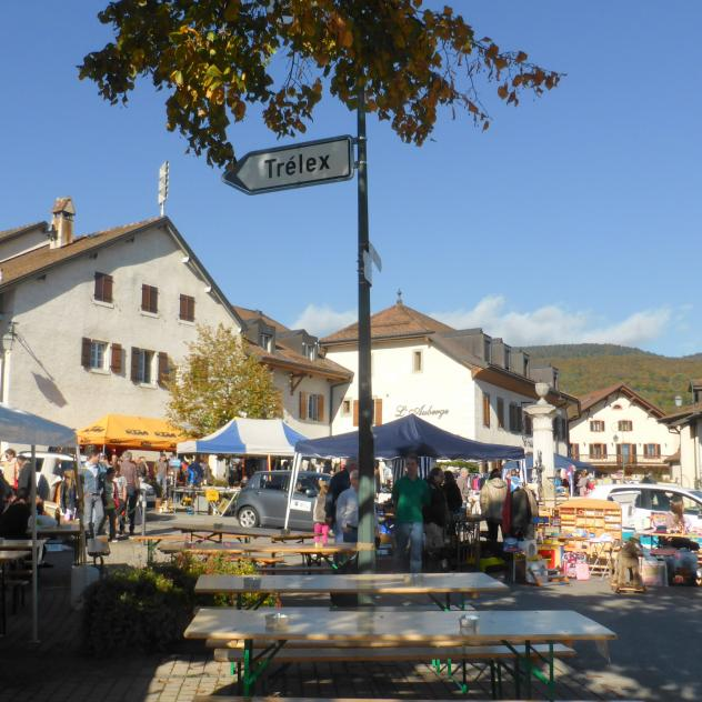 Flea Market of Genolier