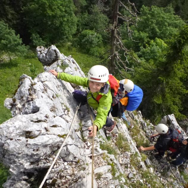 Progression – Swiss climbing school -  Mountain guide office