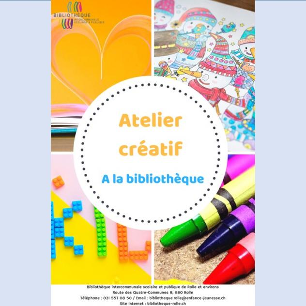Creative parent-child workshop - Rolle Library