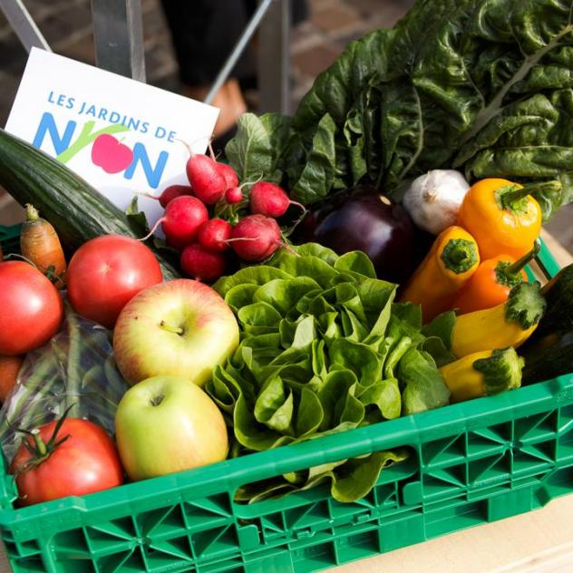Distribution of regional fruit and vegetable baskets - Nyon