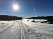 Cross-country skiing and skiing pass