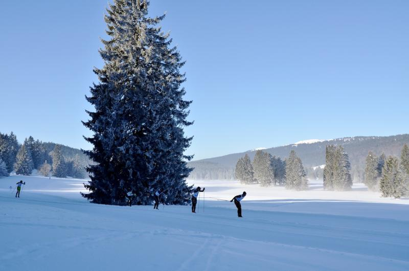 Cross-country skiing - Sainte-Croix/Les Rasses © Mara