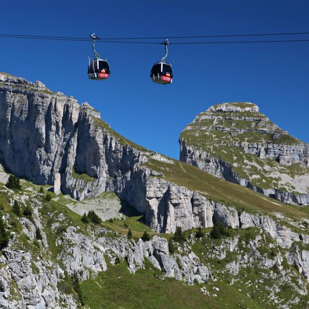 Leysin - La Berneuse Cable Car