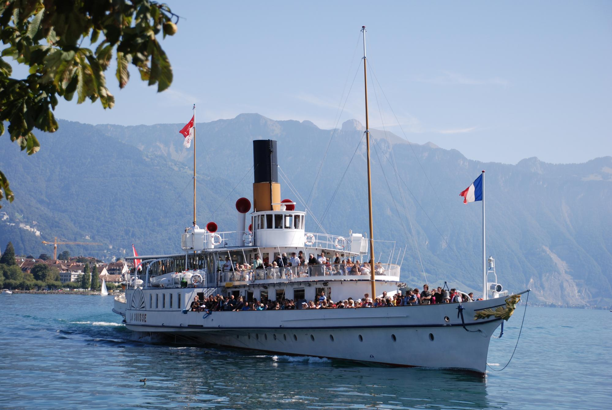 Private cruises by the CGN on Lake Geneva - Montreux Riviera