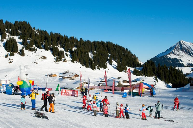 Swiss Ski School Snow Village in Bretaye © VillarsGryon