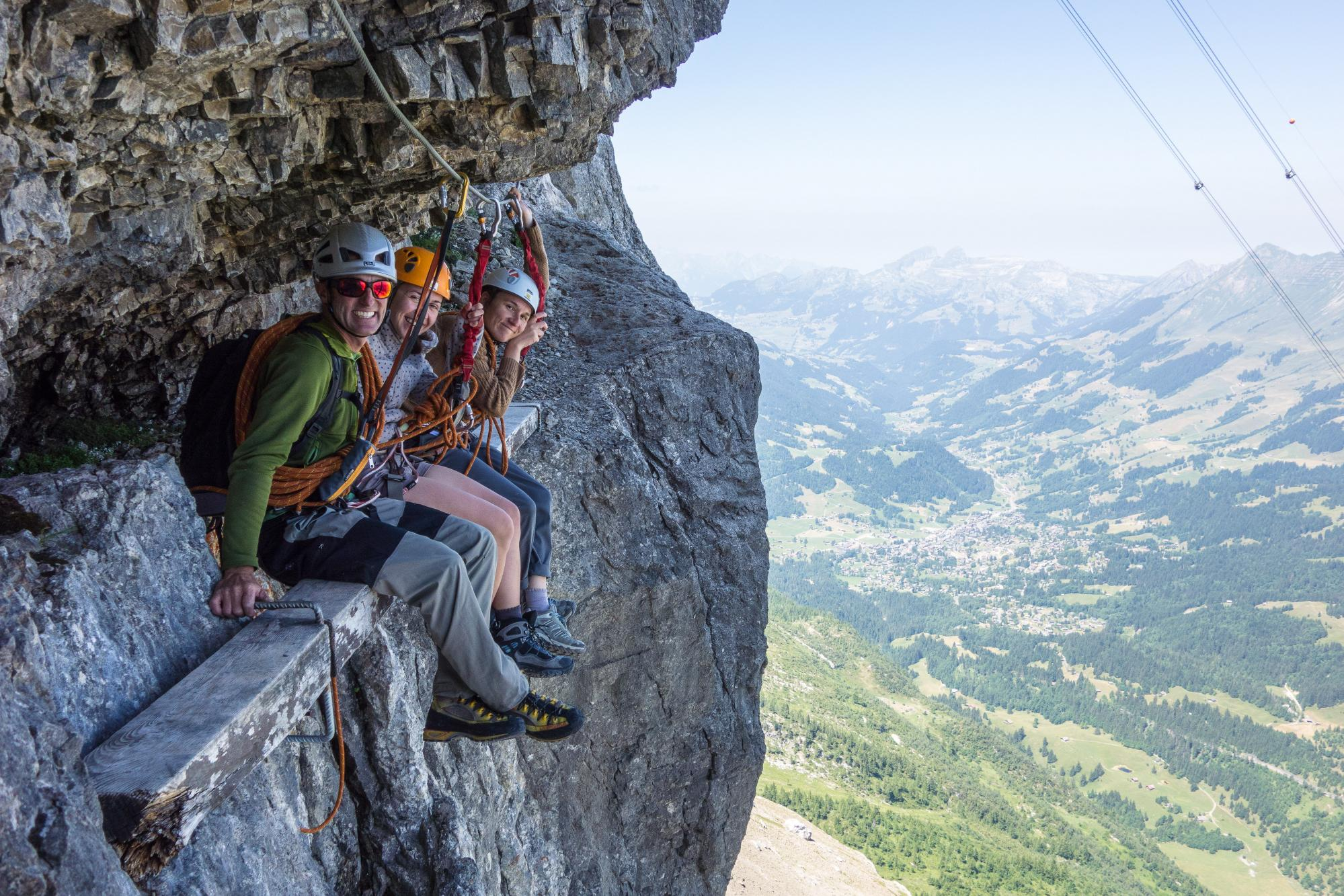 Via Ferrata Rocher Jaune