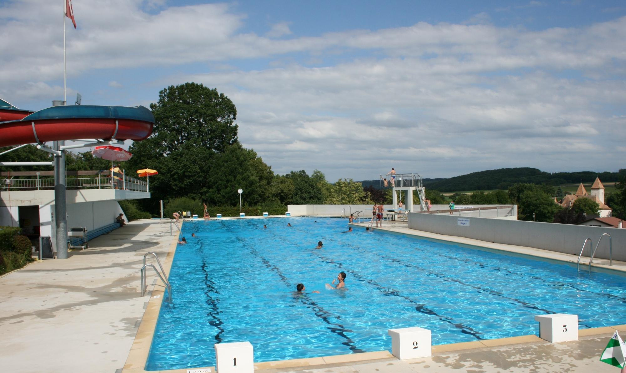 Camping des buis morges r gion suisse for Piscine de camping