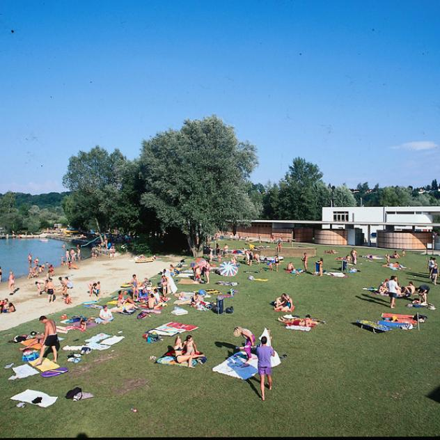 Plage communale d'Estavayer-le-Lac
