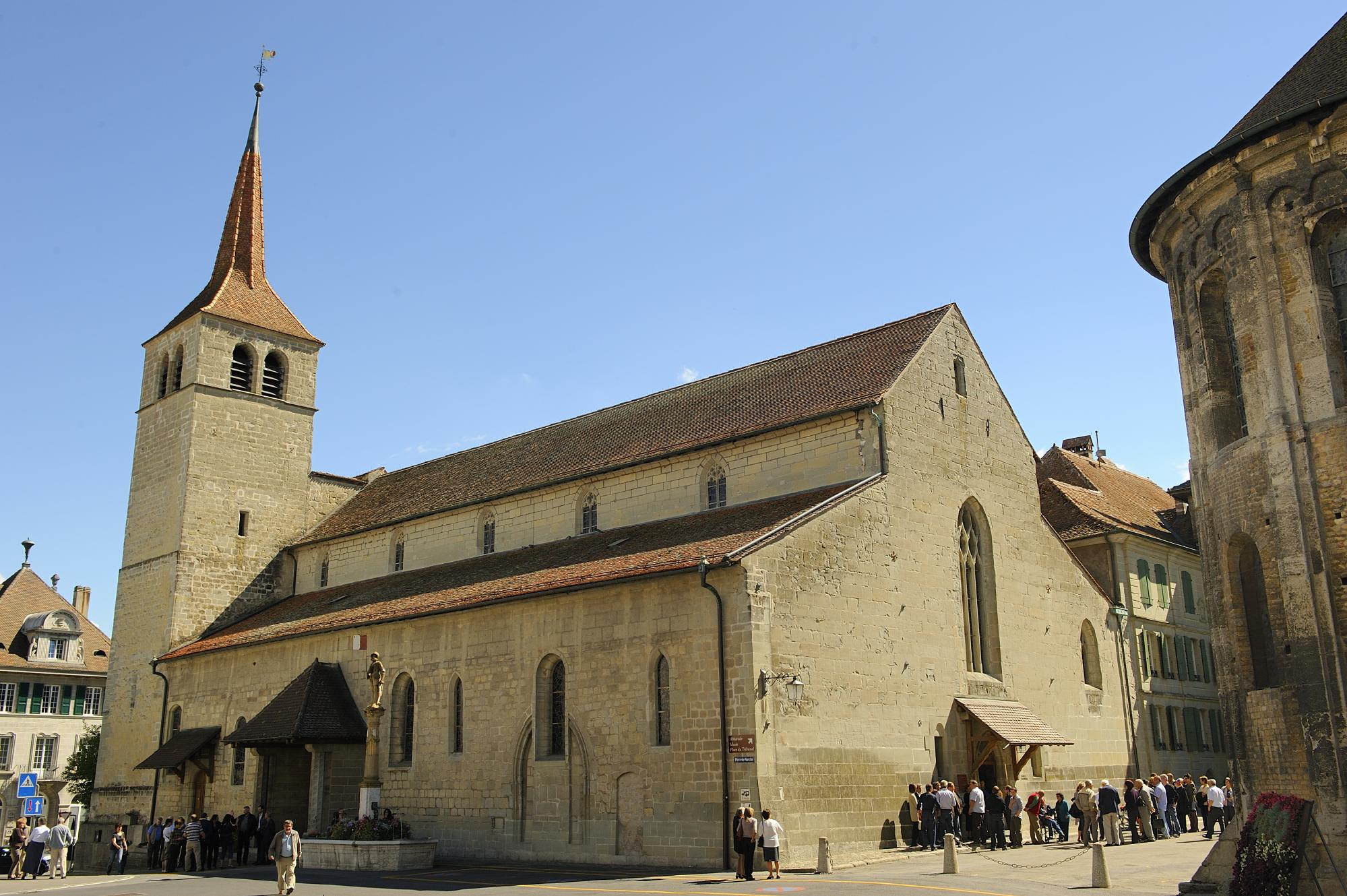 The Payerne Abbey Church