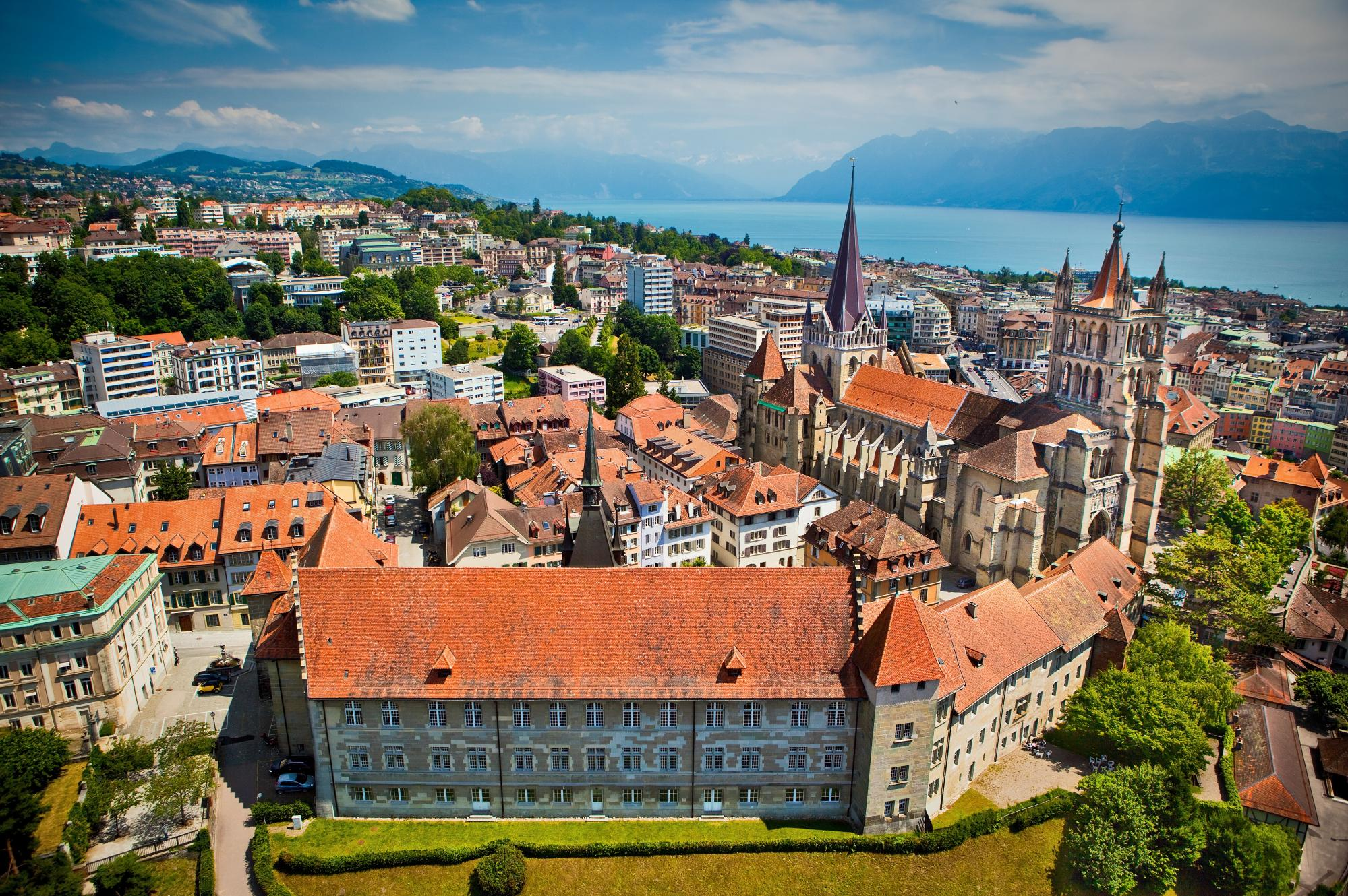 The Lausanne cathedrale