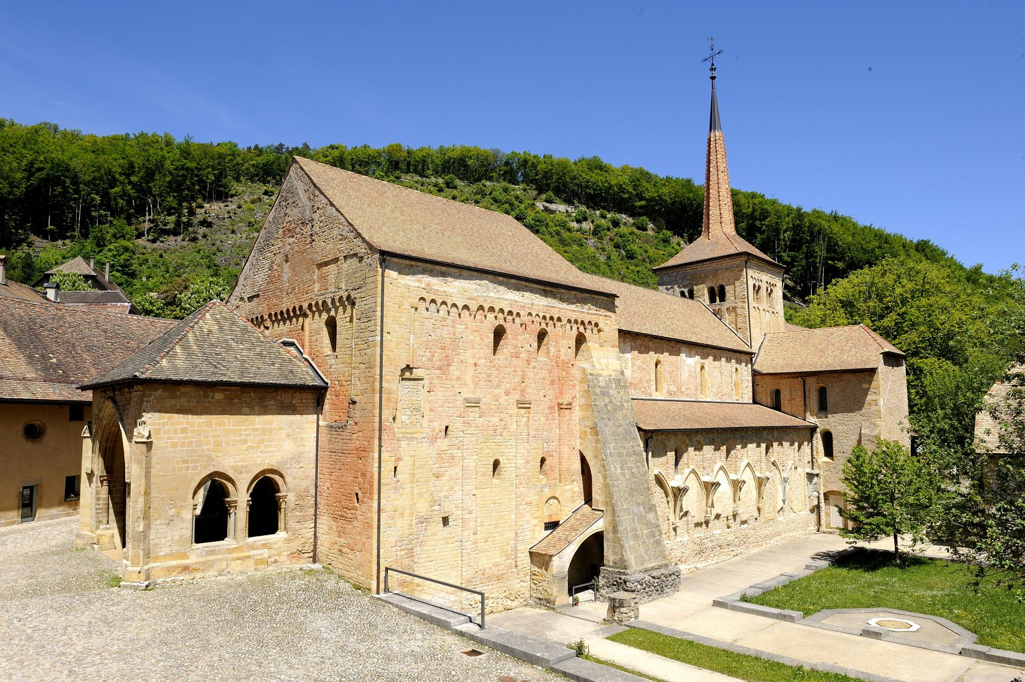 Romainmôtier Abbey Church
