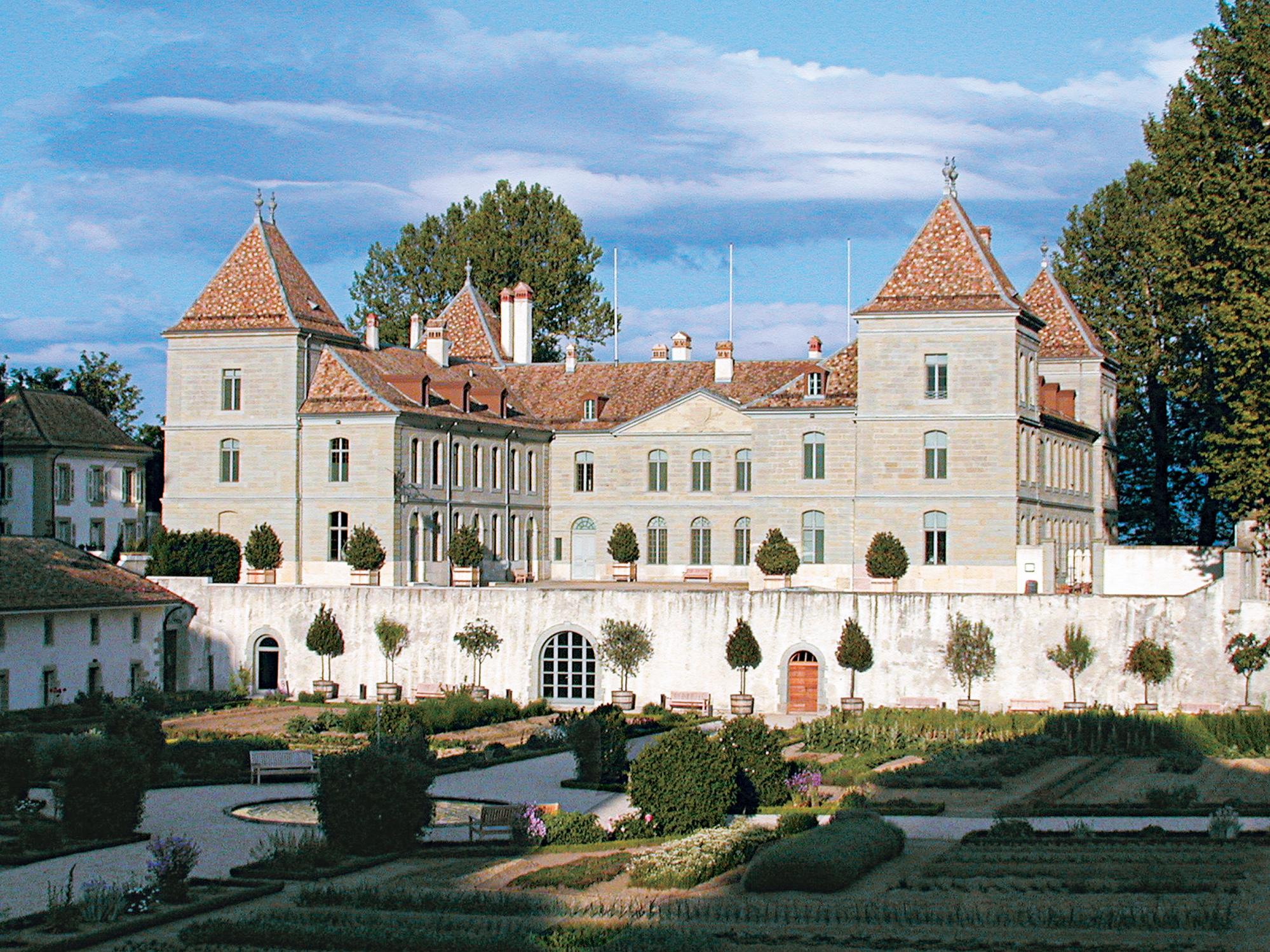 Noble conferences at the Château de Prangins