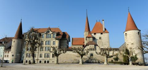 "Avenches, member of ""The Most Beautiful Villages in Switzerland"""