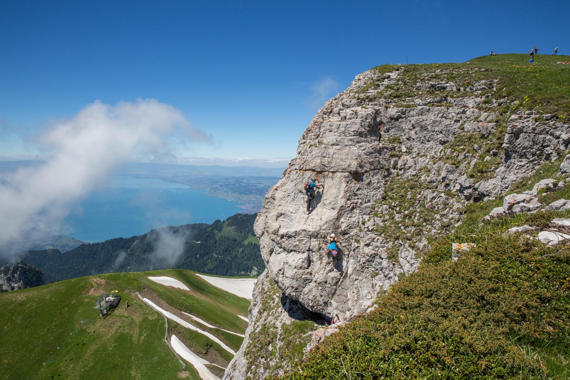 Via ferrata - Leysin
