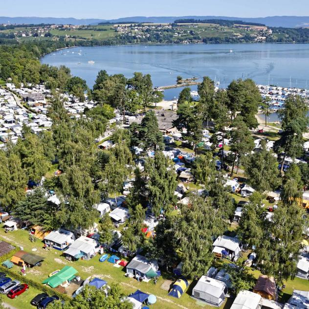 Camping Avenches Plage (*****)