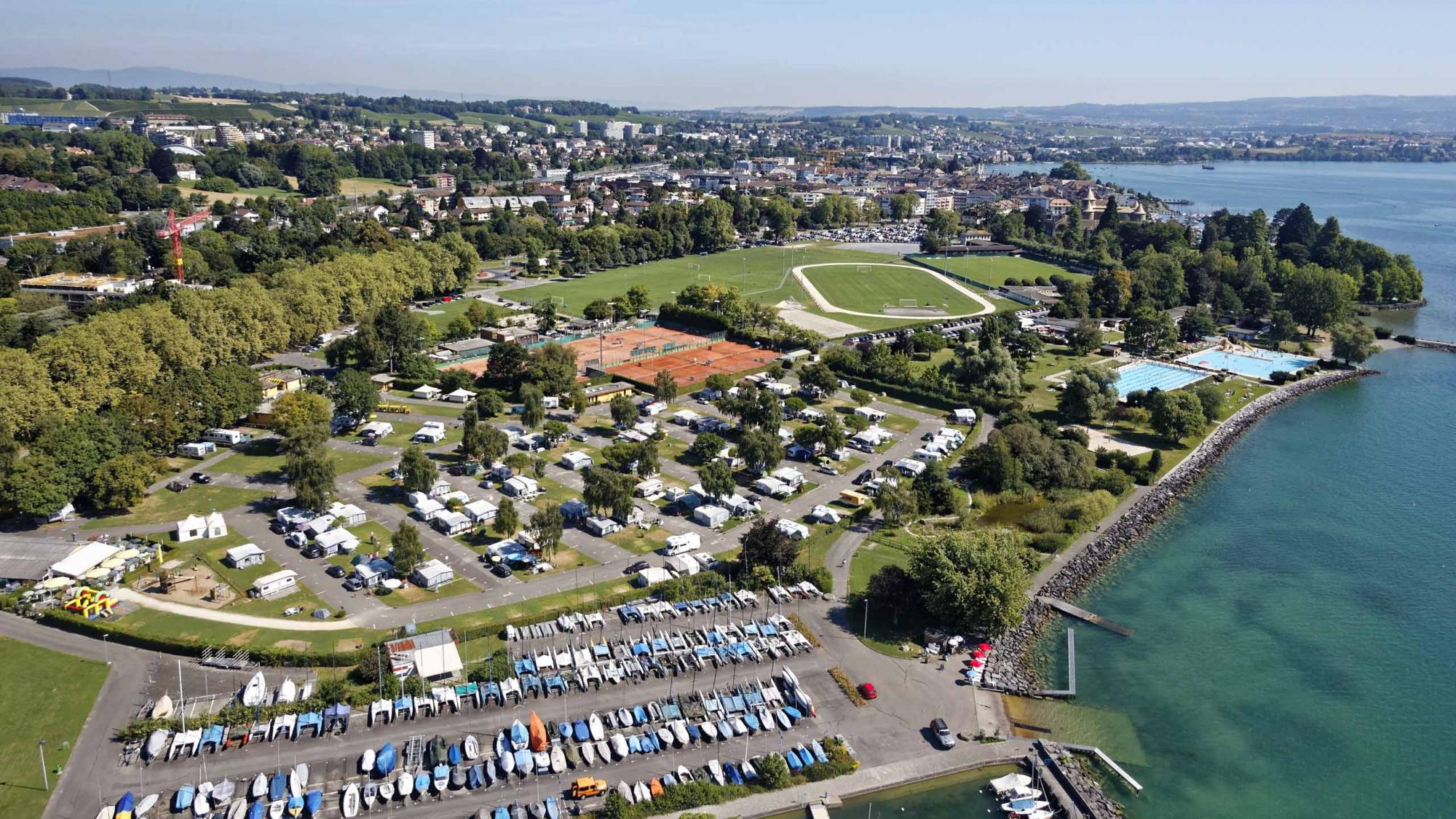 Camping tcs morges - Office du tourisme morges ...