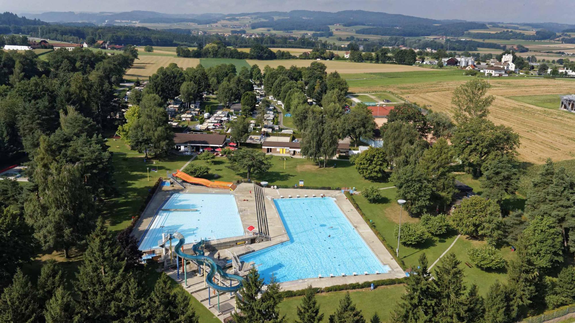 Camping piscine payerne for Camping de la piscine aigle