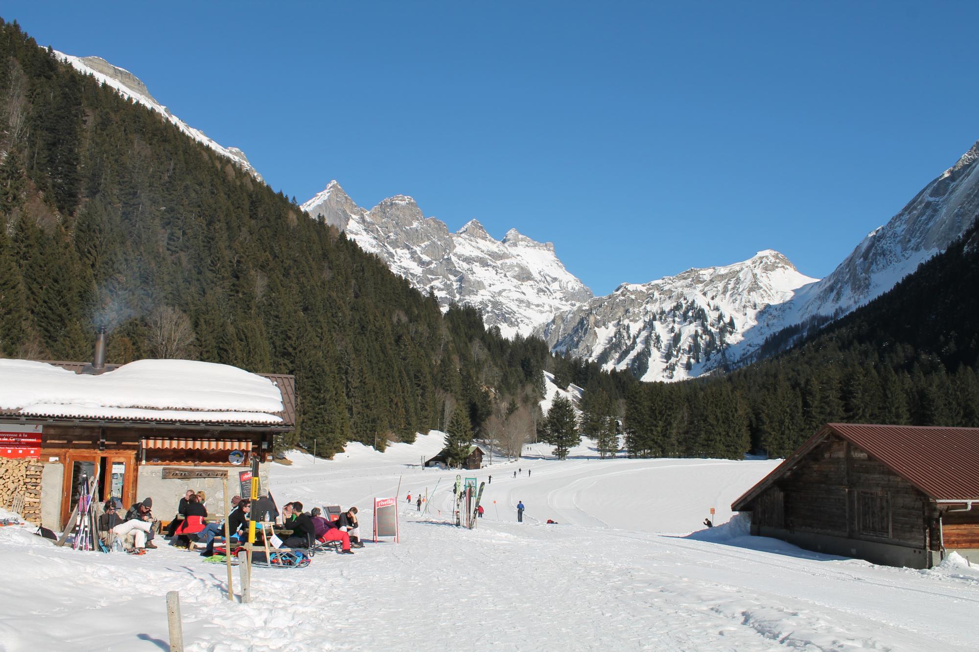 Chemin cergnement solalex 978 villars gryon les diablerets bex suisse - Office tourisme diablerets ...