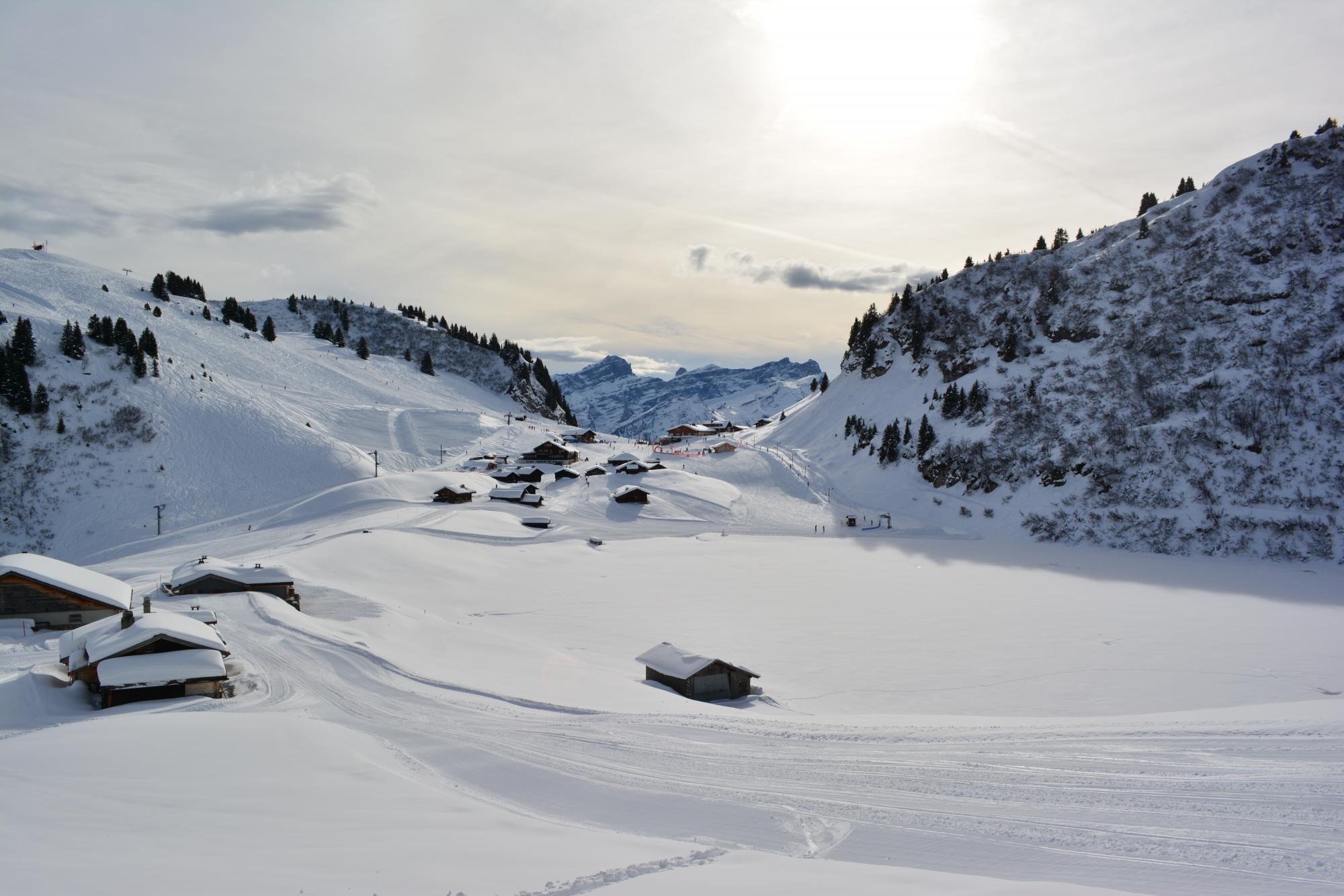 Parcours bretaye lac des chavonnes 467 villars gryon les diablerets bex suisse - Office tourisme diablerets ...