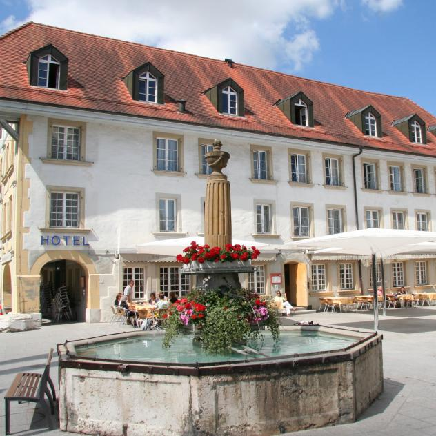 Swiss Hotel La Couronne