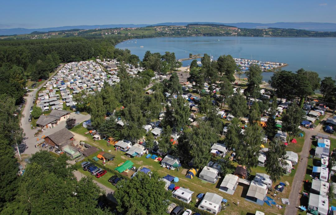 Camping Plage Avenches