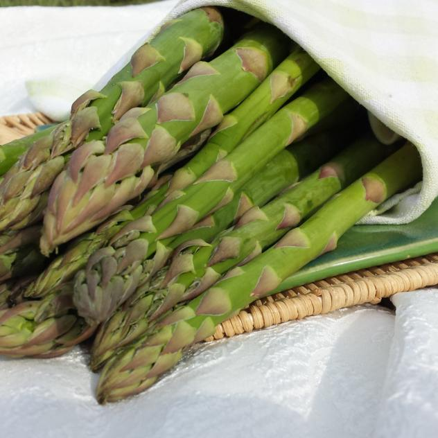 Green Asparagus from Vully