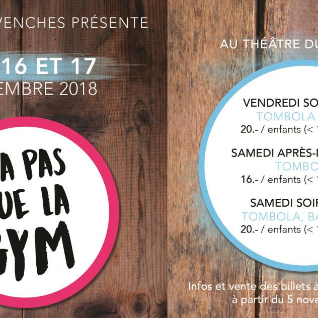 "Shows of ""La Gym d'Avenches"""