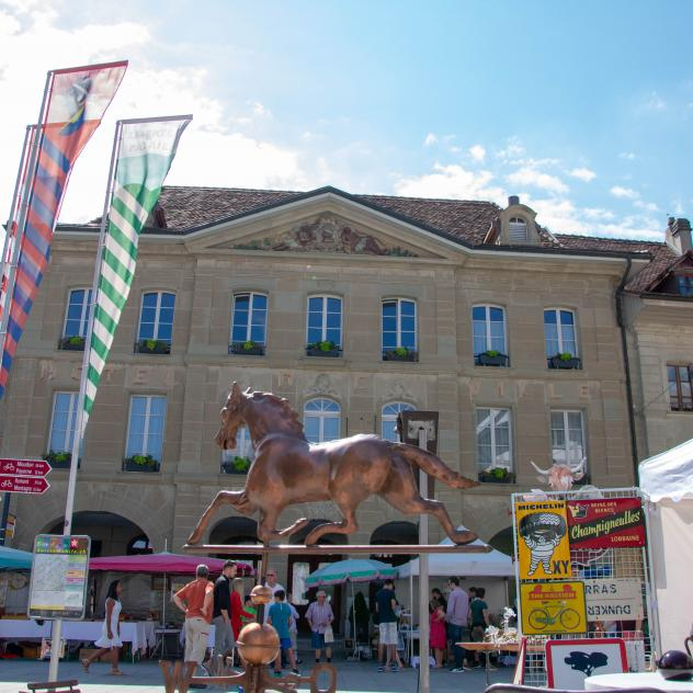 Seconhand and antiquities market in Avenches