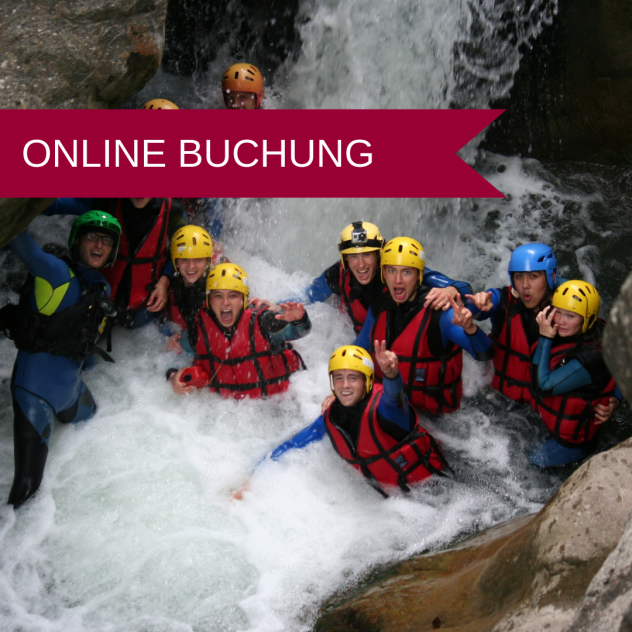 Canyoning in der Torneresse